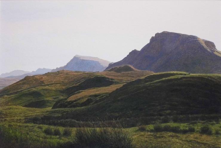 Rodger Insh, 'Skye Perspective (Trotternish)', 2014. 37.7 x 25.3 cm, gouache. ©Rodger Insh